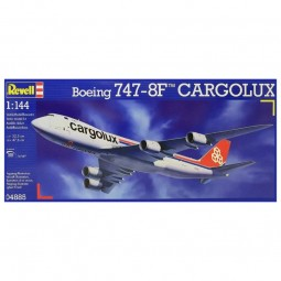 Boeing 747-8 Cargolux Model Airplane Kit