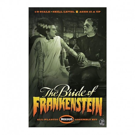 Bride and Monster Horror Model Kit