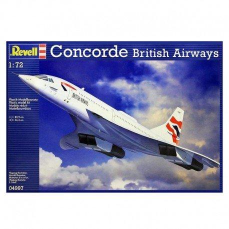 British Airways Concorde Airplane Model Kit