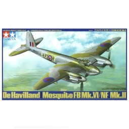 De Havilland Mosquito FB VI NF II Airplane Model Kit