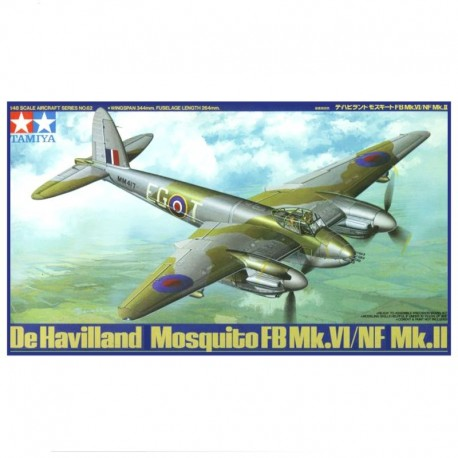 De Havilland Mosquito FB VI NF II Airplane Model Kit