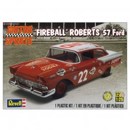 Fireball Roberts '57 Ford Model Car Kit