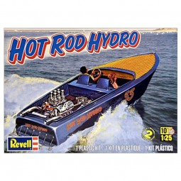 Hot Rod Hydro Boat Model Kit