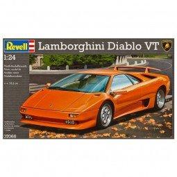 Lamborghini Diablo VT Model Car Kit