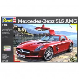 Mercedes-Benz SLS AMG Model Car Kit