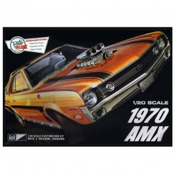 1970 AMC AMX Car Model Kit