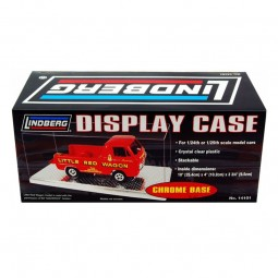 Single Display Car Case (Chrome Base)