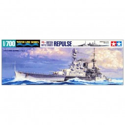 British Battle Cruiser Repulse Model Ship Kit