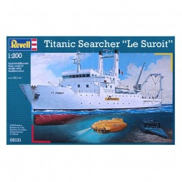 Titanic Searcher 'Le Suroit' Model Ship Kit