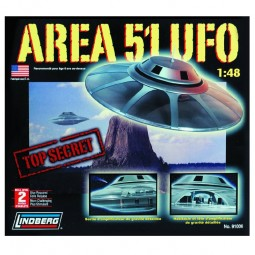 Area 51 UFO Spacecraft Model Kit