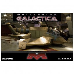 Battlestar Galactica Raptor Spacecraft Model Kit