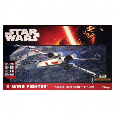 Star Wars X-Wing Fighter Spacecraft Model Kit - View 1