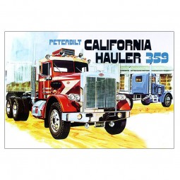 Peterbilt 359 'California Hauler' Truck Model Kit