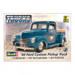 1940 Ford Custom Pickup Truck Model Kit