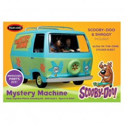 Scooby-Doo Mystery Machine Van Model Kit