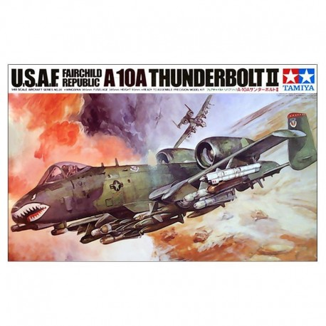 A-10 Thunderbolt II Airplane Model Kit
