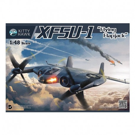 Xf5U-1 'Flying Flapjack' Airplane Model Kit