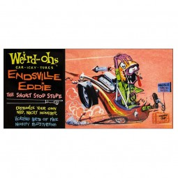 Weird-Oh's 'Endsville Eddie' Figure Model Kit
