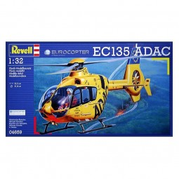 Eurocopter EC135 Helicopter Model Kit
