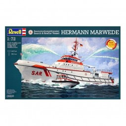 Hermann Marwede Search and Rescue Vessel Model Kit