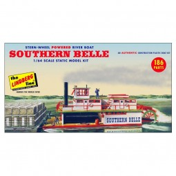 Southern Belle Paddle Wheel Steamship Model Kit