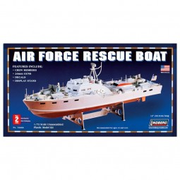 Air Force Rescue Boat Model Kit