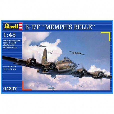 B-17F Memphis Belle Airplane Model Kit