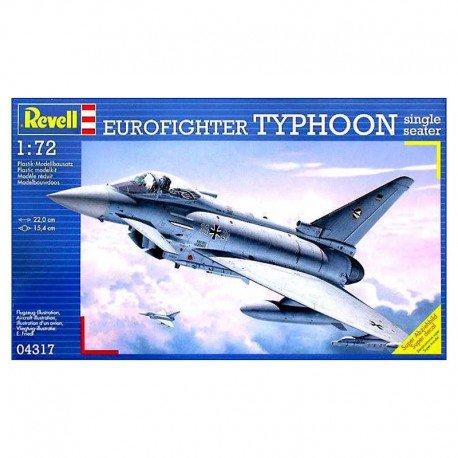 Eurofighter Typhoon Single Seater Model Airplane Kit