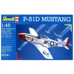 P-51D Mustang Model Airplane Kit
